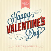 Happy Valentine's Day Background — Vettoriale Stock