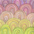 图库矢量图片: Colorful Circle Modern Abstract Design Pattern