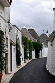 Trulli of Alberobello city, Italy — Stock Photo