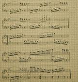 Musical score — Stock Photo