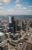 Skyscrapers of Toronto (Canada) — Stock Photo