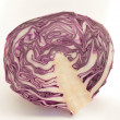 Stock Photo: Purple cabbage