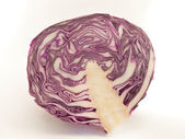 Purple cabbage — Stock Photo