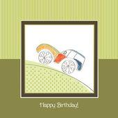 Birthday kids card — Stock Vector