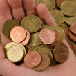 Euro coins - Stock Photo