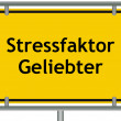 Stock Photo: Stress factor lover sign