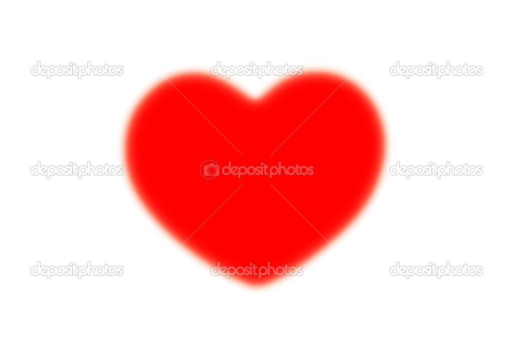 Red heart  Stock Photo #19716871