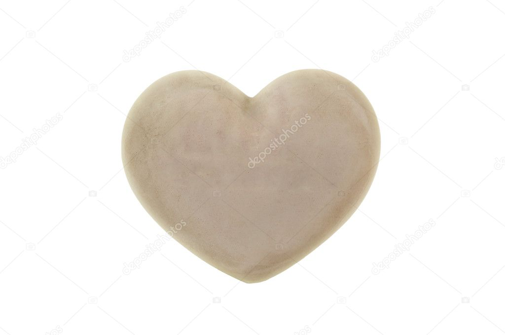 Heart, isolated  Stock Photo #19716903