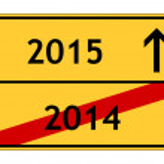 2014 - 2015 — Stock Photo