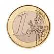 Stock Photo: 1 euro coin