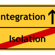 Integration is better than isolation — Stock Photo