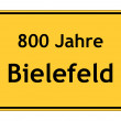 Stock Photo: 800 years Bielefeld
