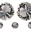 5 diamonds — Stock Photo #40473657
