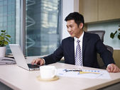 Asian businessman — Stock Photo