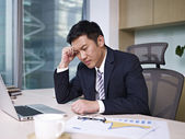 Asian businessman — Stockfoto
