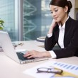Stock Photo: Asibusinesswoman