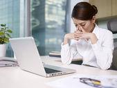 Asijské podnikatelka — Stock fotografie