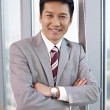 Stock Photo: Asian businessman