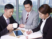 Asian business — Stock Photo