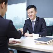 Asiatiska affärer — Stockfoto
