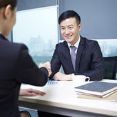 Negocios asiáticos — Foto de Stock