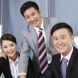 Stock Photo: Asibusiness team