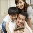 Loving family - Stock Photo