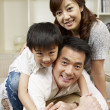 Stock Photo: Loving family