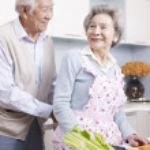 Loving senior couple — Stock Photo #37284791