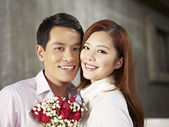 Portrait young couple — Stock Photo
