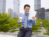 Asian business person — Stock Photo