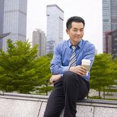 Asian business executive — Stock Photo