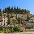 Castle Hill in Verona - Stock Photo