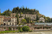 Castle Hill in Verona — Stock Photo