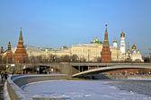 Kremlin van moskou — Stockfoto