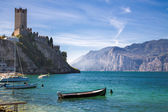 Lake Garda. Castle — Stock Photo