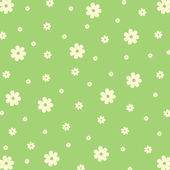 Pattern from flowers — Stock vektor