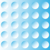 Abstract blue background, the illusion of the circles — Stock vektor