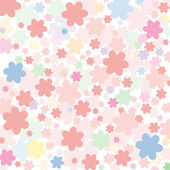 Background of pink flowers — Stock vektor