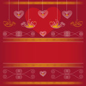 Background - Valentine's Day — Stock Vector