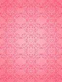 バレンタインデーのピンクの背景 — ストックベクタ