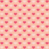 Beige valentines background — Vector de stock