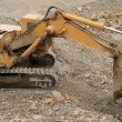 Crawler Excavator — Stock Photo