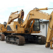 Crawler Excavator — Stock Photo #18281731