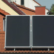 Solar collector — Stock Photo