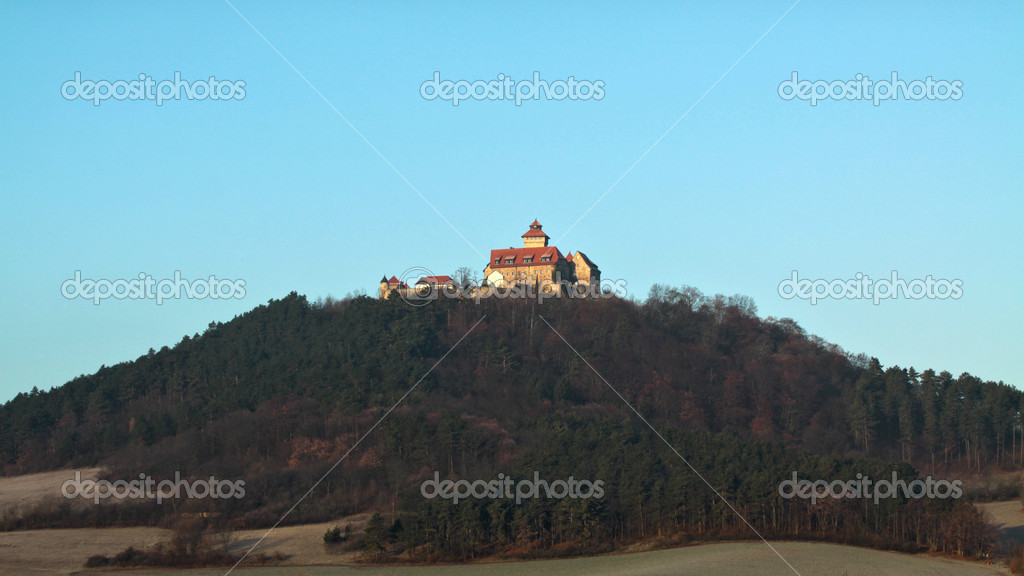 Wachsenburg castle — Stock Photo #18942677