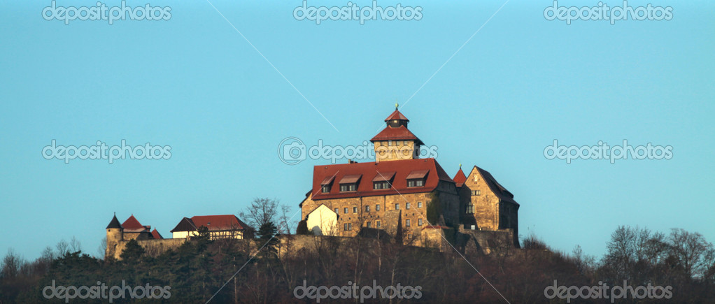 Wachsenburg castle — Stock Photo #18942997