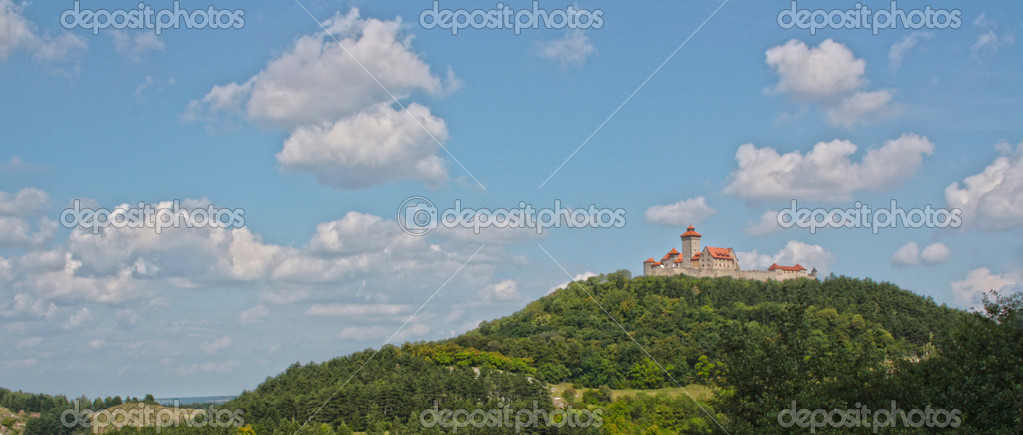 Wachsenburg castle — Stock Photo #18983167
