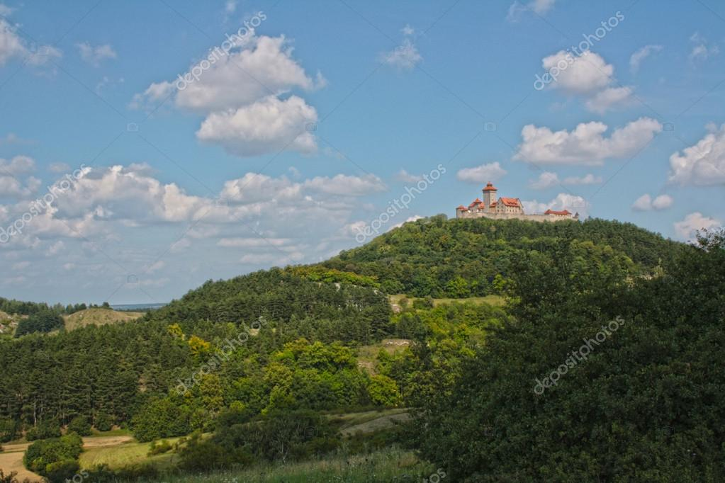 Wachsenburg castle — Stock Photo #18983263