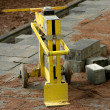 Stock Photo: Concrete paving